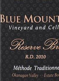 Blue Mountain Reserve Brut R.D. Méthode Traditionelle