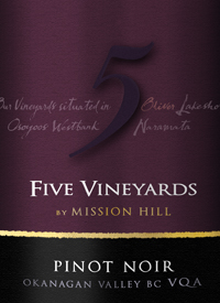 Five Vineyards by Mission Hill Pinot Noirtext