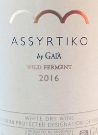 Assyrtiko by Gaia Wild Fermenttext