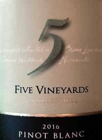 Five Vineyards by Mission Hill Pinot Blanc