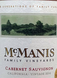 McManis Family Vineyards Cabernet Sauvignontext