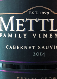 Mettler Family Vineyards Cabernet Sauvignon