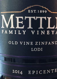 Mettler Family Vineyards Old Vine Zinfandeltext