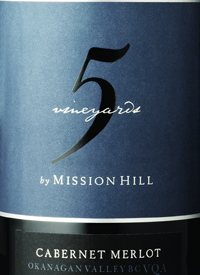 Five Vineyards by Mission Hill Cabernet Merlottext