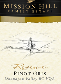Mission Hill Reserve Pinot Gristext