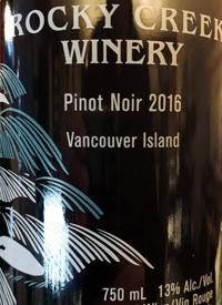 Rocky Creek Pinot Noir