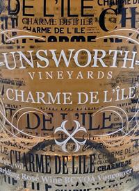 Unsworth Vineyards Charme De L'ile Rosétext