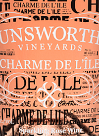Unsworth Vineyards Charme De L'ile Rosétext
