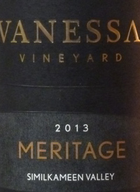 Vanessa Vineyard Meritage