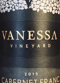 Vanessa Vineyard Cabernet Franctext