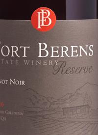 Fort Berens Reserve Pinot Noir