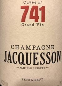 Champagne Jacquesson Cuvée n° 741 Extra-Bruttext