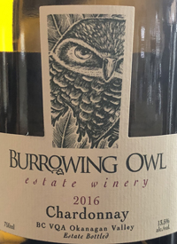 Burrowing Owl Chardonnaytext