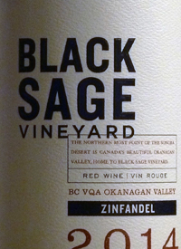 Black Sage Vineyard Zinfandel