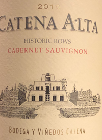 Catena Alta Historic Rows Cabernet Sauvignontext