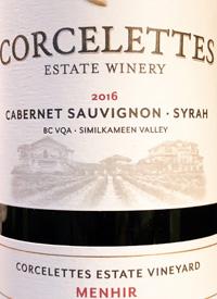 Corcelettes Cabernet Sauvignon - Syrah Menhirtext