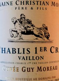 Domaine Christian Moreau Chablis 1er Cru Vaillon