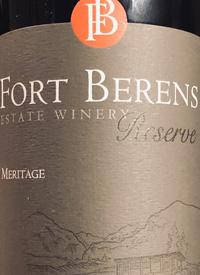 Fort Berens Reserve Meritage