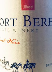 Fort Berens Pinot Noirtext
