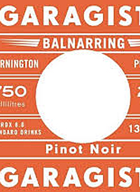 Garagiste Balnarring Pinot Noirtext