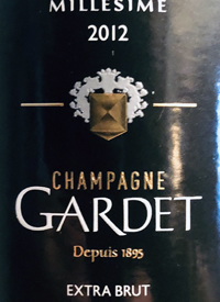 Champagne Gardet Millesime Extra Bruttext
