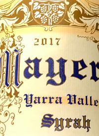 Mayer Yarra Valley Syrahtext