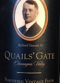 Quails' Gate Maréchal Foch Limited Release Fortified Vintagetext