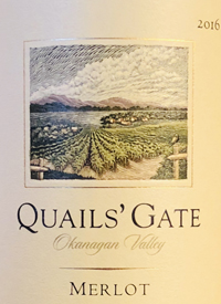 Quails' Gate Merlottext