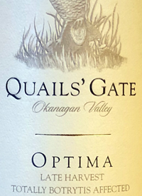 Quails' Gate Late Harvest Totally Botrytis Affected Optimatext