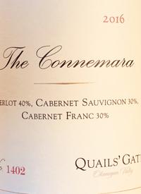 Quails' Gate The Connemara Merlot Cabernet Sauvignon Cabernet Franc