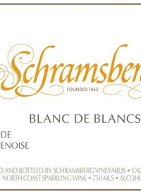 Schramsberg Blanc de Blancs Bruttext