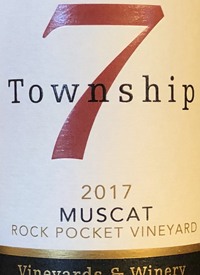 Township 7 Muscat Rock Pocket Vineyardtext