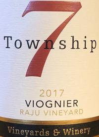 Township 7 Viognier Raju Vineyardtext