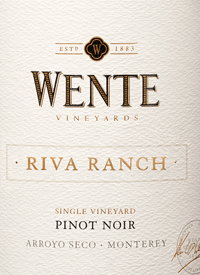 Wente Riva Ranch Single Vineyard Pinot Noirtext