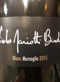 Nicolas Mariotti Bindi Blanc Mursagliatext