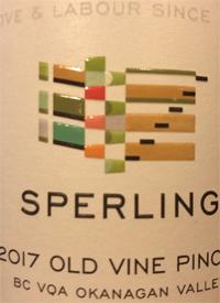 Sperling Vineyards Old Vines Pinotstext