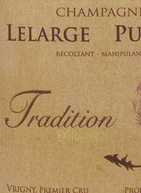 Champagne Lelarge Pugeot Tradition Extra Bruttext