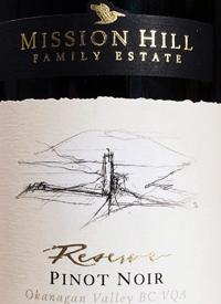 Mission Hill Reserve Pinot Noirtext