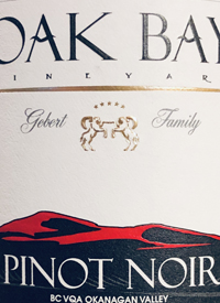 Oak Bay Vineyard Pinot Noirtext