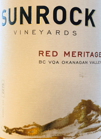 Sunrock Vineyard Red Meritagetext