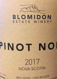 Blomidon Pinot Noirtext