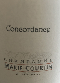 Champagne Marie-Courtin Condordance