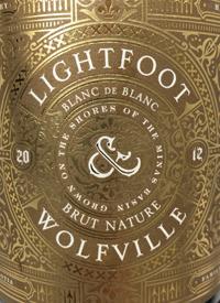 Lightfoot and Wolfville Blanc de Blancs Brut Naturetext