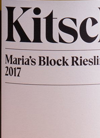 Kitsch Maria's Block Riesling