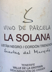 Suertes del Marqués La Solanatext