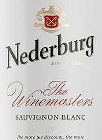 Nederburg Sauvignon Blanc The Winemaster's Reservetext