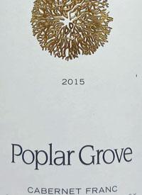 Poplar Grove Cabernet Franctext