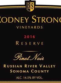 Rodney Strong Russian River Pinot Noir Estate Vineyards