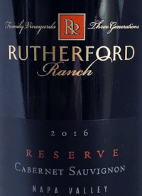 Rutherford Ranch Reserve Cabernet Sauvignontext