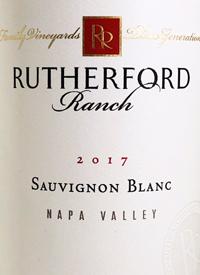 Rutherford Ranch Sauvignon Blanctext